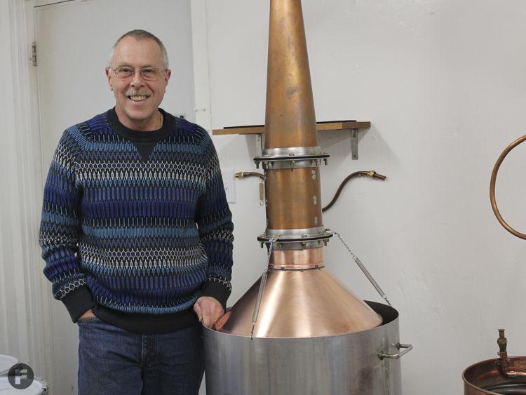 Edelbrand Distilling Martin Weber
