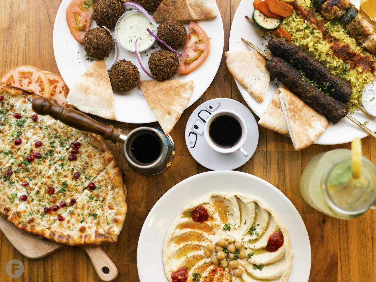 Jerusalem Cafe Dishes