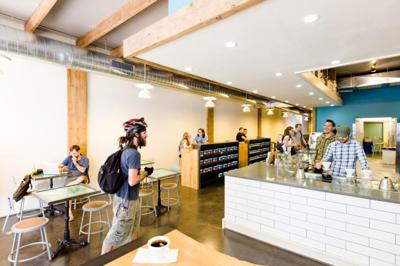 Inside Blueprint Coffee