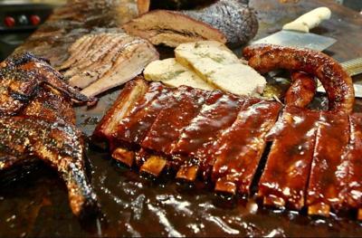 A Fine Swine platter
