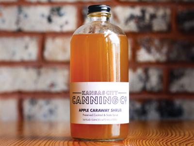 Kansas City Canning Co. Apple Caraway Shrub
