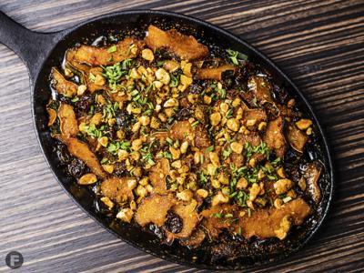 Thai-Inspired Acorn Squash Casserole