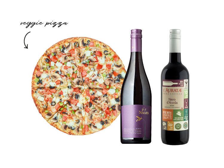 Veggie Pizza Pairings