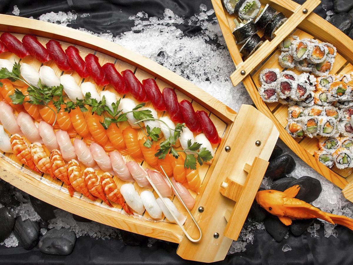 RA Sushi Dishes