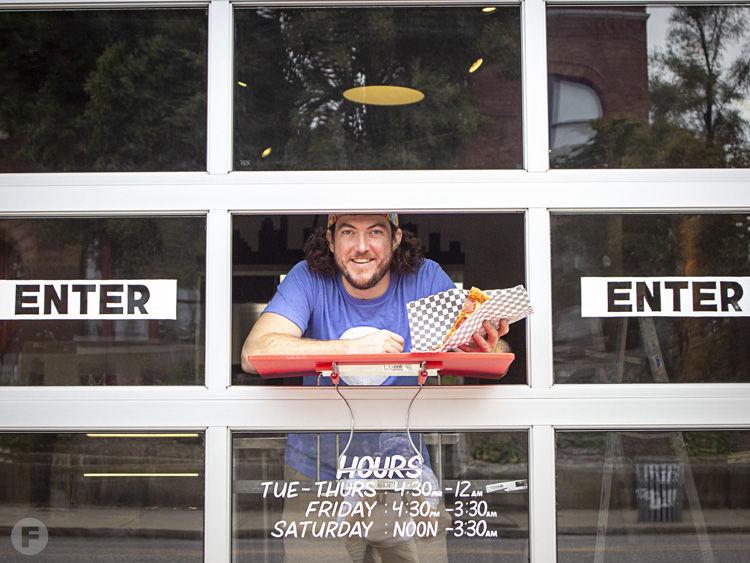 Pie Guy Pizza Window