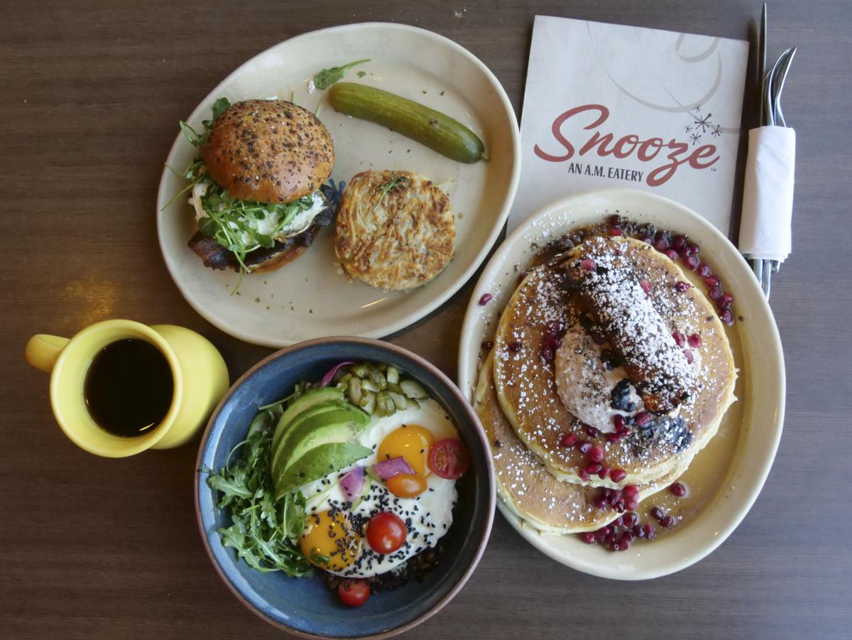 Snooze, an A.M. Eatery Dishes