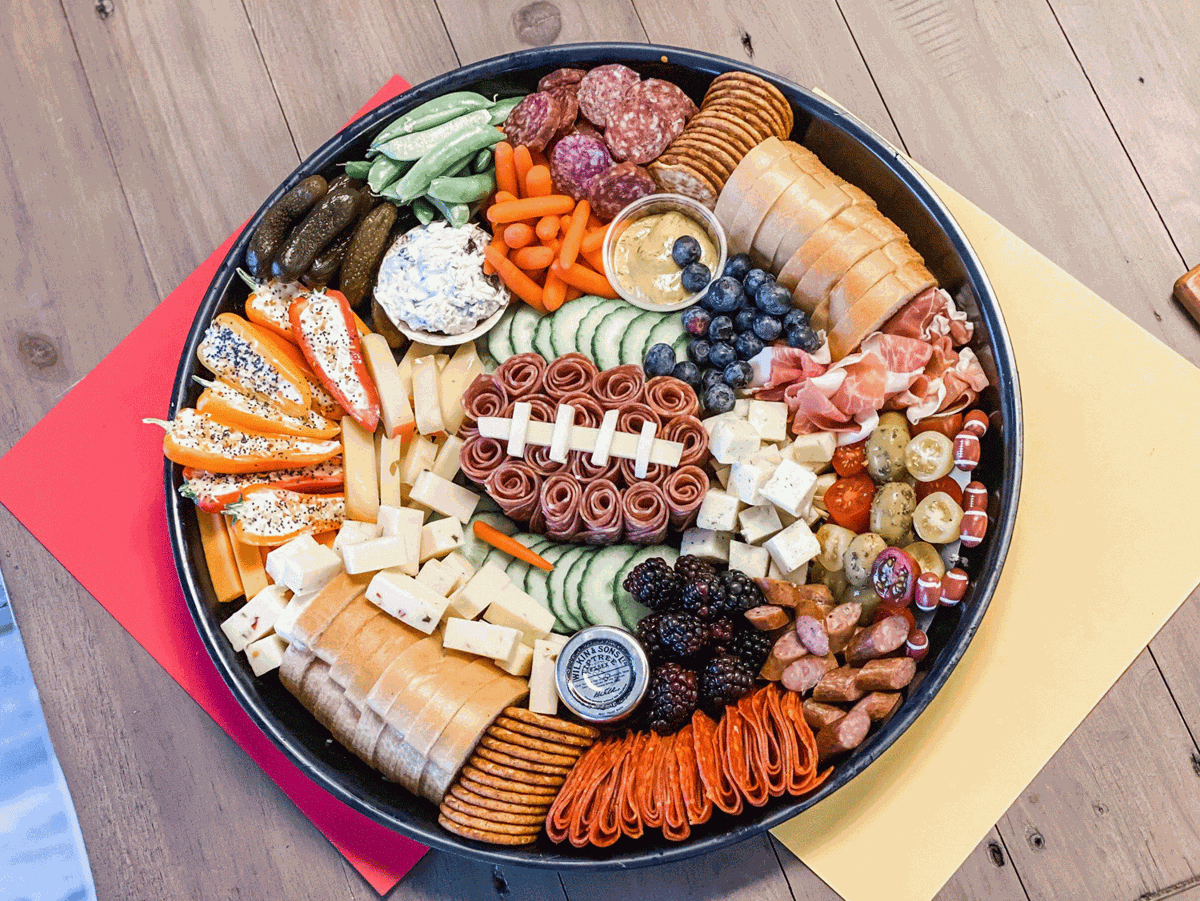 Game Day Platter from 417 Charcuterie