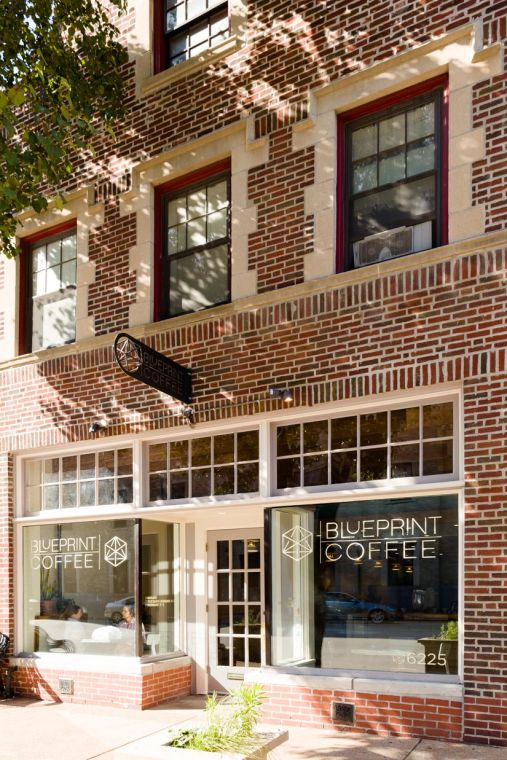 Blueprint coffee to open in lindenwood park this fall st louis the entrance to blueprint coffee in the loop malvernweather Gallery