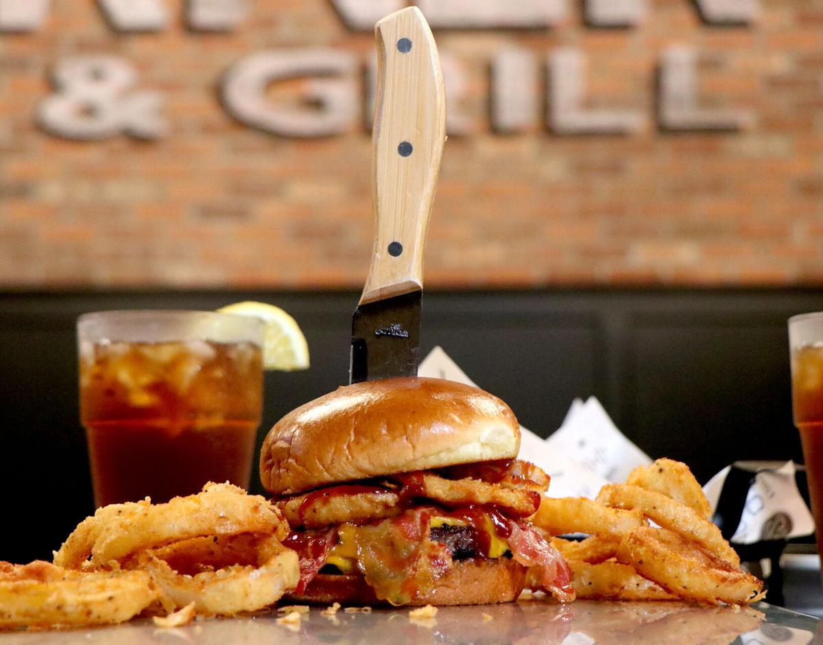 The Corner Pub and Grill burger