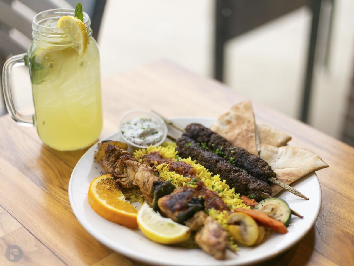 Jerusalem Cafe Kabob Platter