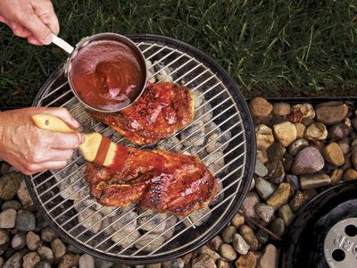 This summer, master St. Louis' signature pork cut: the pork steak