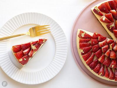 Strawberry Lemon Cheesecake