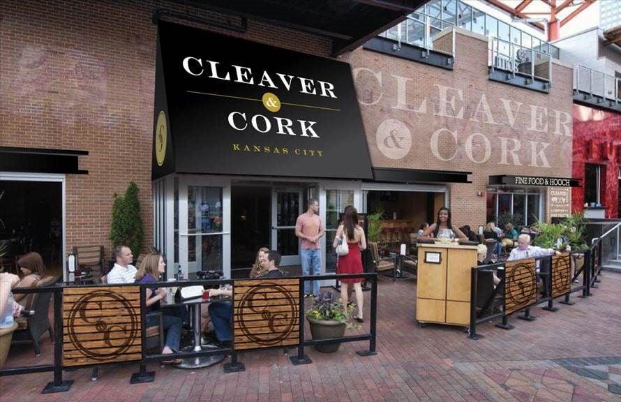 Cleaver & Cork: Exterior