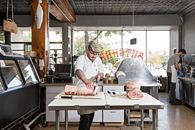 Stuart Aldridge of Broadway Butcher Shop