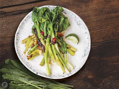 Spicy Sauteed Broccoli
