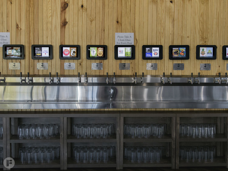 21 Taps Beer Wall