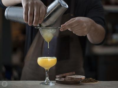 Retreat Gastropub Cocktail