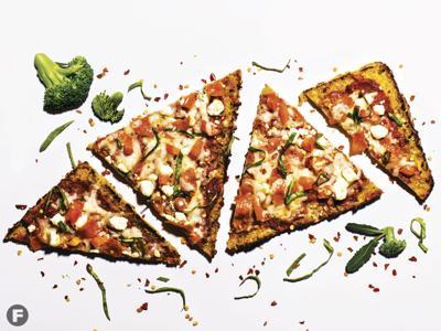 Veggie Pizza Crusts