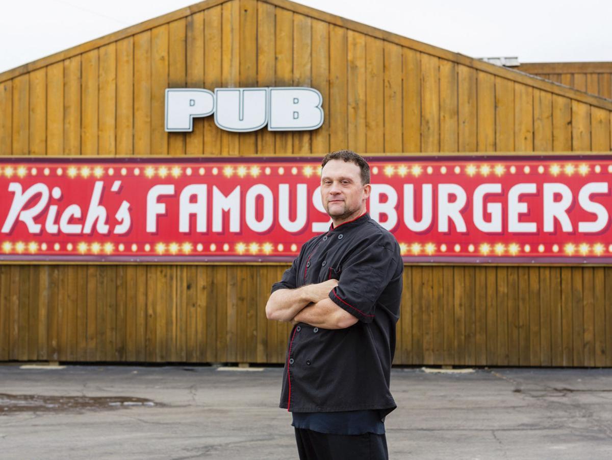 Rich's Famous Burgers Jason Cusick
