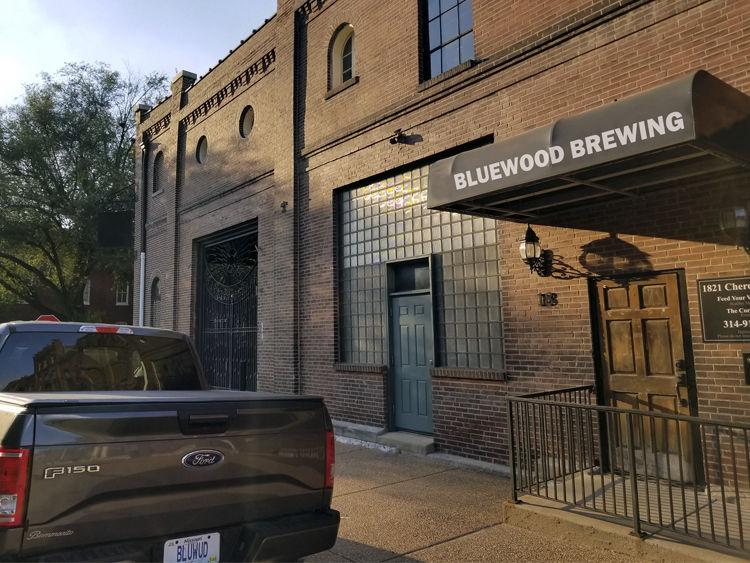 Bluewood Brewing Exterior