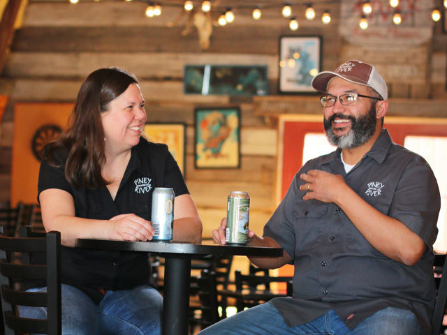 Piney River Brewing Co. Joleen and Brian Durham