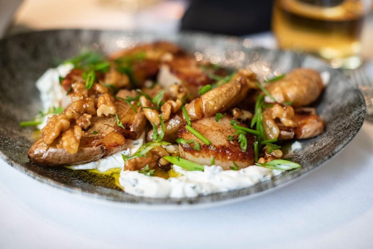 The Tenderloin Room scallop dish