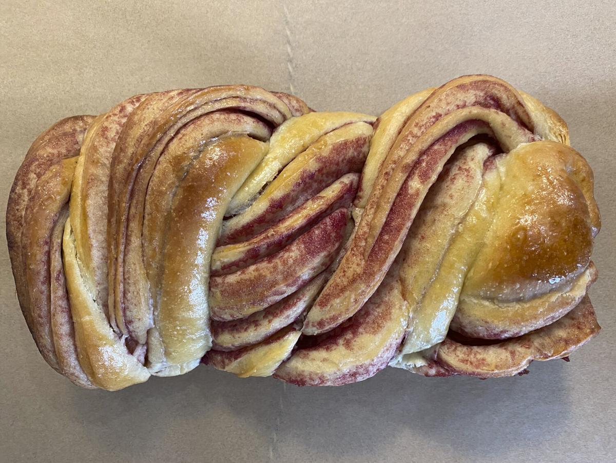 Bread of the Month Club Raspberry Babka