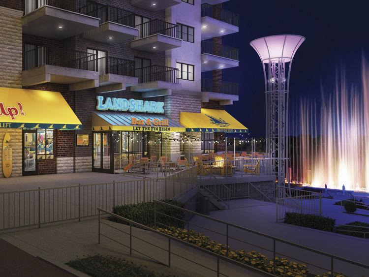 LandShark Bar & Grill Exterior