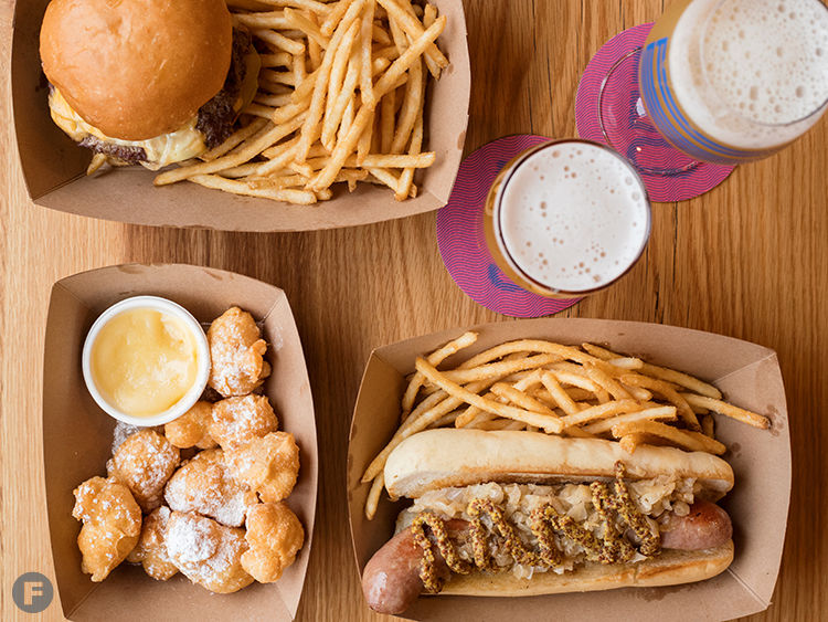 The Much-Anticipated Rockwell Beer Co. Brings Craft Brews and Smashed Burgers to The Grove