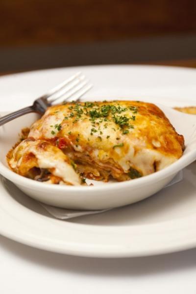 Prosciutto-Spinach Lasagna