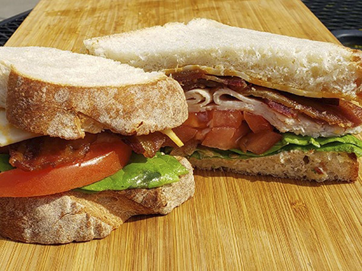Best Regards Bakery & Café Turkey Club Sandwich