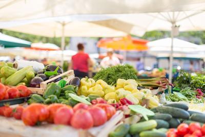 Weekend events farmers' market