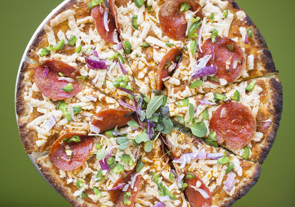 A² the GFCF Cafe Gluten-Free Pizza