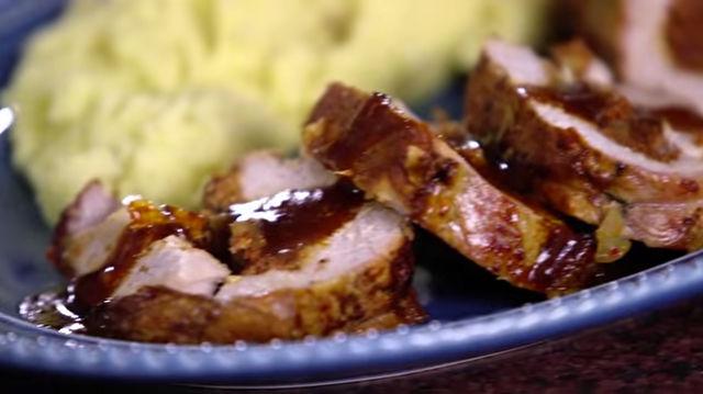 'Nduja-Stuffed Pork Roulade