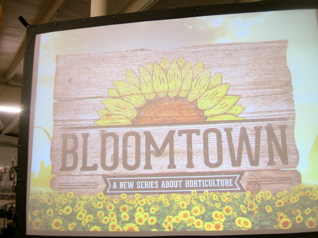 Bloomtown: Launch Party Graphic