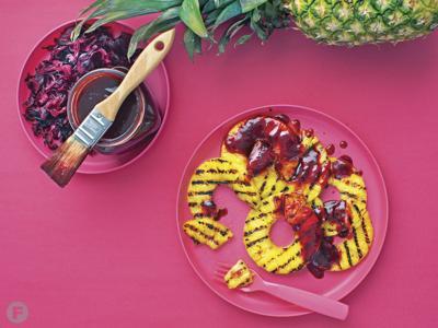 Hibiscus Barbecue Sauce