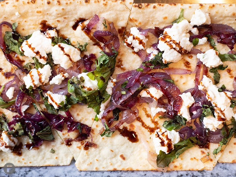 Switch List Goat Cheese Flatbread