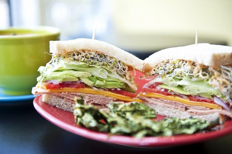 """Frida's Deli's  """"turkey"""" sandwich"""