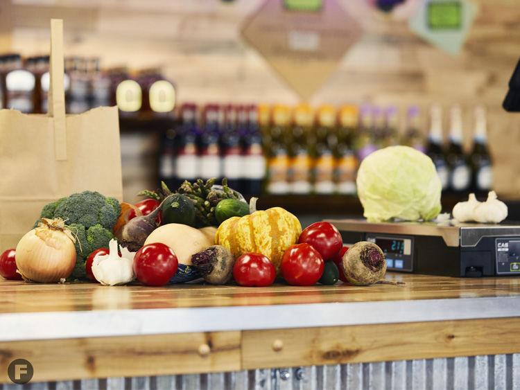 Farm 2 Counter produce