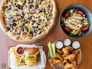 Native Grill & Wings Dishes