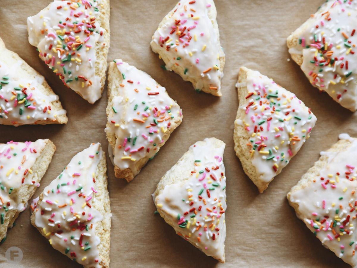 Bee Creek Bakery & Hearth Bread Co. Birthday Cake Scones