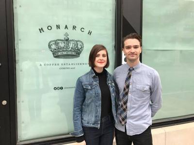 Monarch Coffee Jaime and Tyler Rovenstine