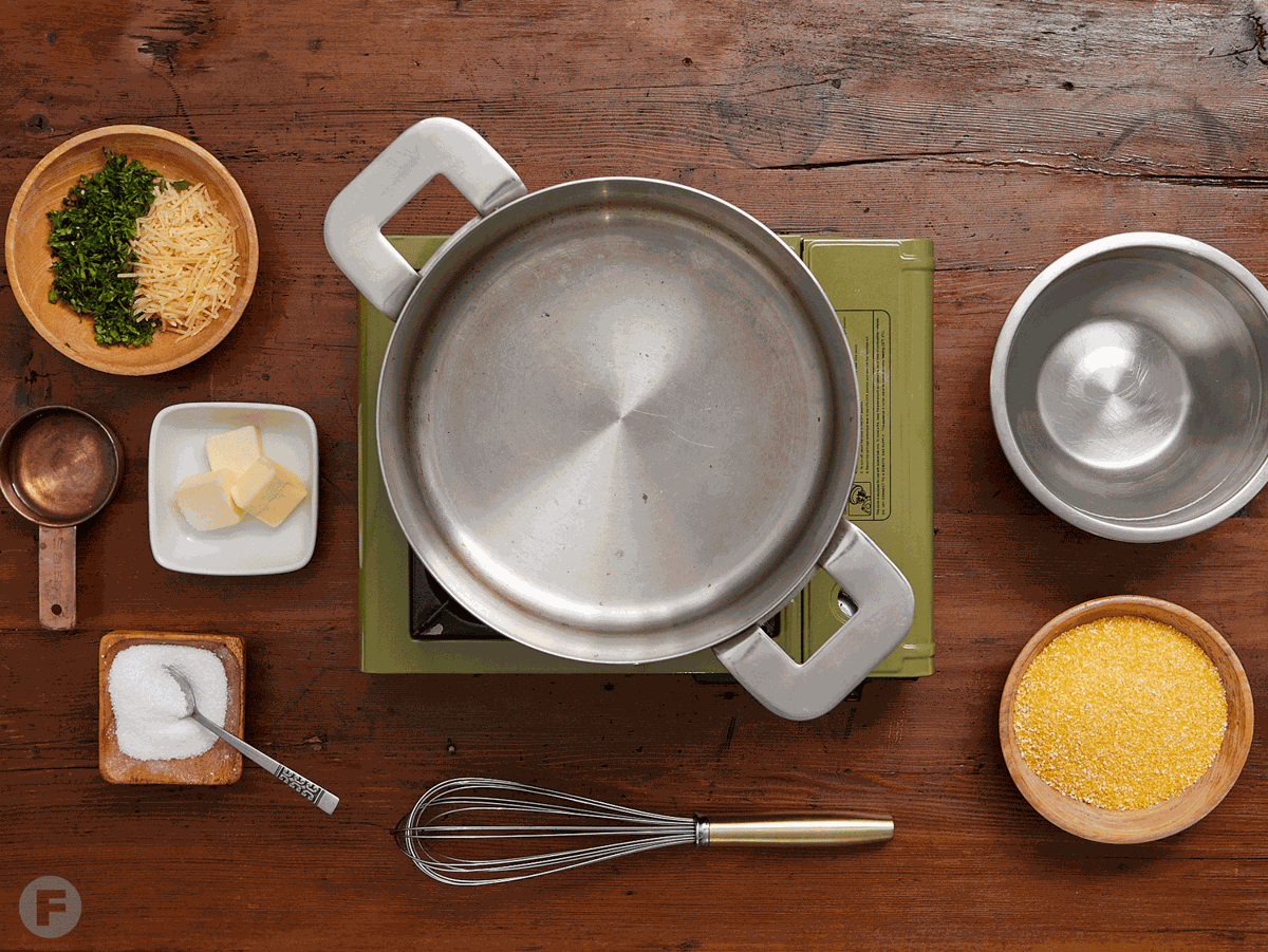 Gather your ingredients.