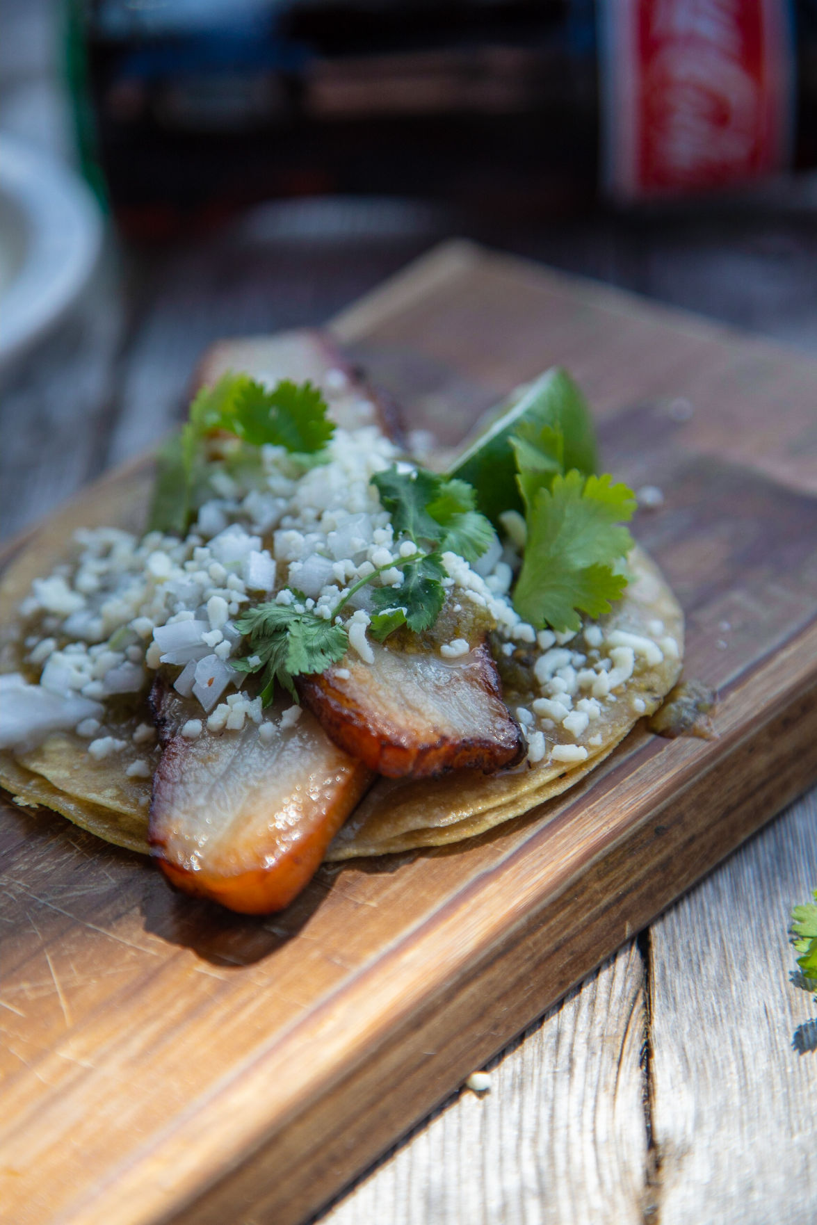 Team Taco Pork Belly Taco