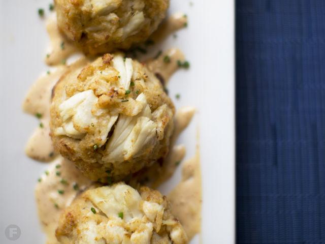 Saltwater Crab Cakes