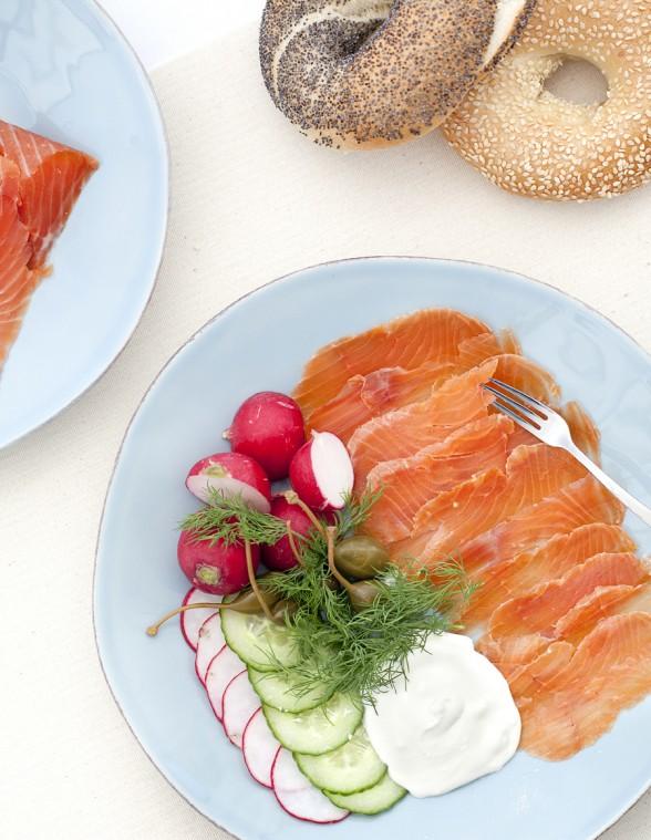 Gravlax starters sides feast magazine for Salt cured fish
