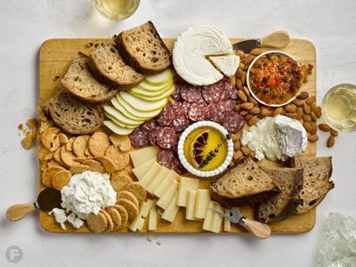 White, Sparkling & Rosé Wine Board