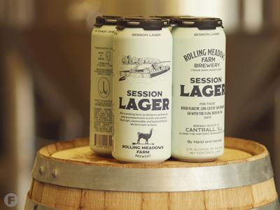 Rolling Meadows Farm Brewery Session Lager