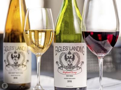 Just A Taste Eagles Landing wines