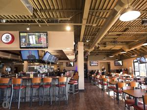 Native Grill & Wings Interior
